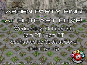 Garden Hangout@Outcast Cove